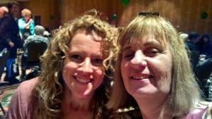 Melinda and Jeannette